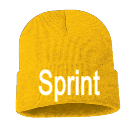 Sprint - Custom Heat Pressed Adult  Beanie - Sp12 ABFDB35C1043