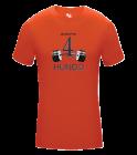 4-Hundo Adult Compression Crew Tshirt