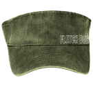 FLETCH DOG - Custom Heat Pressed Otto Cap 15-279 9E43AA2A834C