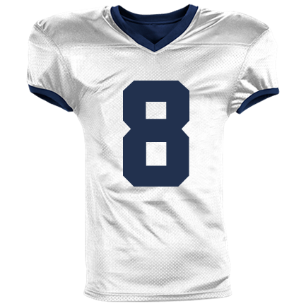724d705f0 08-SAVE THE-8 - Custom Heat Pressed Reversible Football Jersey Adult -1357 S  ACE96C7D3EC5A