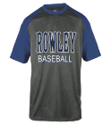 ROWLEY-ROWLEY-BASEBALL - Custom Heat Pressed Adult Heathered Sport Tee - 4341 5B32FE3C0B6C