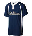drillers - Custom Heat Pressed Youth Baseball Jersey 2  Button / 2 Color - NB4229 9616162C433A