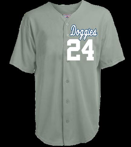 Doggies-24-Quintero-24 - Youth Speedster Baseball Jersey - 1765B - Custom  Heat Pressed - CustomPlanet.com bf11523f8