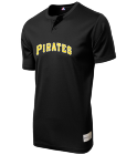 JOSH-BELL55 Youth Pirates Two-Button Jersey - Pirates-MAIY83