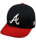 Osborne - Custom Heat Pressed Atlanta Braves Official MLB Hat for Little Kids Leagues E5FDF8F51574