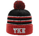 TKE - Custom Heat Pressed Custom Knit Pom Beanie - 134 CB30DBA1EC92