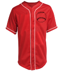 Burrell-03 - Custom Heat Pressed Teamwork Athletic Full Button Baseball Jersey - 1860B 8A68446491AE