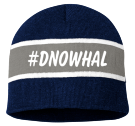 #DNOWHAL - Custom Embroidered Striped Beanie - SP06 F6573A7736BB