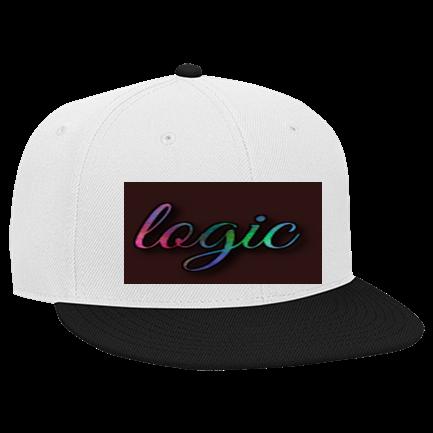 b50a6ef58a0c7 logic - Custom Embroidered Snapback Flat Bill Hat - 125-978 BD612E570D62