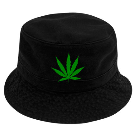 b9fda60fd13 weed - Custom Heat Pressed Short Brim Custom Bucket Hats - 961 ED5CBA461186