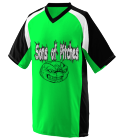 Son of Pitches-12 - Custom Screen Printed Adult Nitro Baseball Jersey  - 1535 C687287D006F