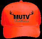 MUTV-Hunter-Orange-Hat Neon Pro Style Hat Otto Cap