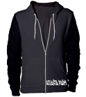 Atlasta Farm, zip hoodie-Hester - Custom Heat Pressed American Apparel Zip Hoodie A5872971E262