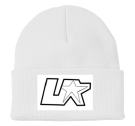 "UNDEPLEASUREDMERCH (STARTER BEANIE) - Custom Heat Pressed 3"" Fold Up Cuff Beanie - CP90 E22B2C69A9FA"