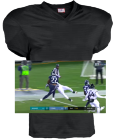 ROYALS DISCONTINUED Adult Touchdown Steelmesh Football Jersey - 1336