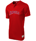 Angels - Custom Heat Pressed Angels Youth 2-Button MLB Jersey - MLB181 B84BAEC89679