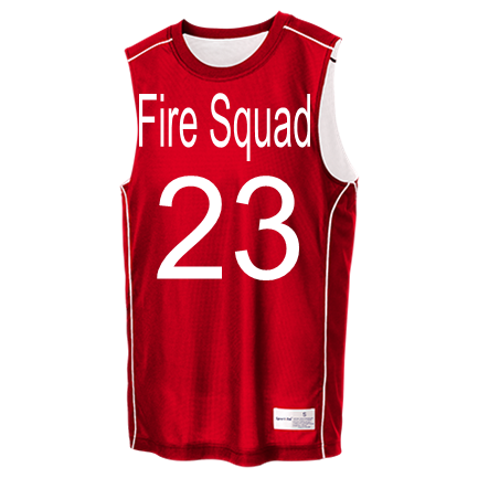 a2f425902 Fire Squad -23-Nguyen-23 - Custom Heat Pressed Adult Team Reversible  Basketball Jerseys - T555 9456D0316910