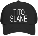 "TITO-SLANE-WOLFJAW - Custom Heat Pressed ""Otto A-Flex"" Cotton Twill w/Stretchable Polyester Air Mesh Back Low Profile Pro Style Caps (LXL)) B1F40451B4CE"