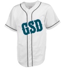 GSD-RICE - Custom Heat Pressed Teamwork Athletic Full Button Baseball Jersey - 1757B 278E79EA56C0