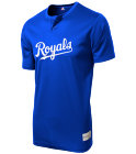 6 Royals MLB 2 button Youth Jersey - MLB181