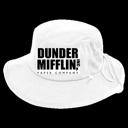 Dunder Mifflin - Custom Heat Pressed Aussie Bucket Hats - 510 40BEC7165810 c9f0784e71f