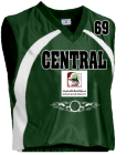 Green - Custom Screen Printed Adult Tip Off Basketball Jersey - Teamwork Atheletic - 1430 CD04DF9C2031