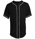 Mixed Like My Drinks - Custom Heat Pressed Teamwork Athletic Full Button Baseball Jersey - 1860B 3CD3BBB2DA9F
