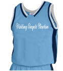 Visiting-Angels-NewtonAISHA DISCONTINUED Womens Basketball Jersey - Jammer Series - Teamwork Athletic - 1439