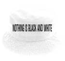 Nothing is black and white-...except this shirt-EnviSci TwentyChai-...except this hat - Custom Heat Pressed Short Brim Custom Bucket Hats - 961 D488FC182C17