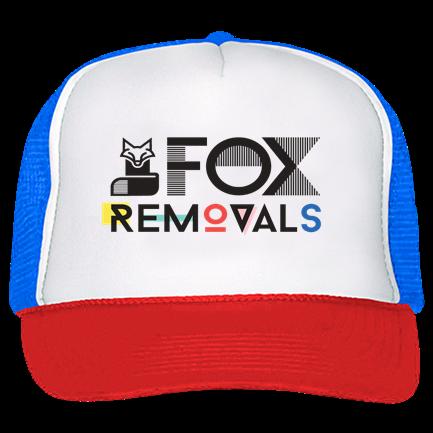 6801c313 FOX - Trucker Hat 39-169 - Custom Heat Pressed - CustomPlanet.com