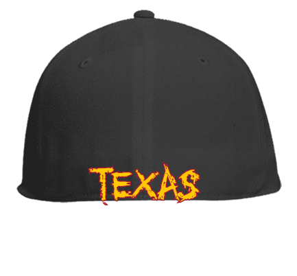 5b1a810532d45 SYLB-TEXAS - Flat Bill Fitted Hats 123-969 - Custom Embroidered ...