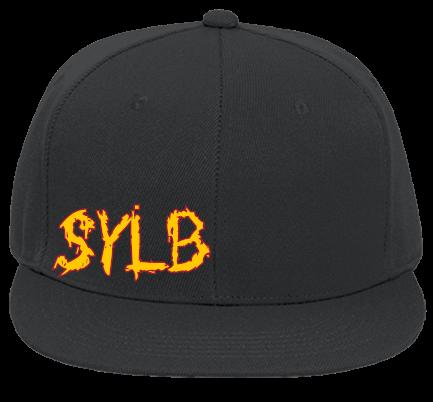 faa1a9f5befe9 SYLB-TEXAS - Custom Embroidered Flat Bill Fitted Hats 123-969 EDD3C96B415B