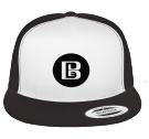 BLEEP - Custom Heat Pressed Cotton Front Trucker Hat  - 6006W CFC858F9883B