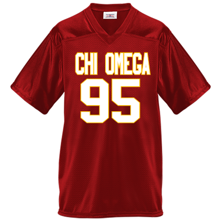 chi o - Custom Heat Pressed Adult Overtime Football Jersey -1392
