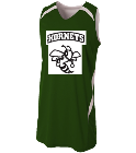 hornets - Custom Heat Pressed Youth Double Double Reversible Jersey - NB2372 ED6C82943E79