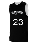 23FISH23 San Antonio Spurs Youth Reversible Basketball Jerseys - A105LY-SPURS