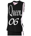 Caballero-06Queen-06 Its a nabor thingDonk00 Women's 2-Color Reversible Basketball Jersey