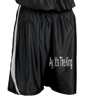 Ay, It's The King - Custom Heat Pressed Youth Basketball Shorts - Downtown - Teamwork Athletic - 4409 652636BB3E02