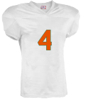 Jyson - Custom Heat Pressed Youth Touchdown Steelmesh Football Jersey -Teamwork Athletic- 1306 5074ED1FA6DF