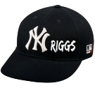 RIGGS - Custom Heat Pressed New York Yankees - Official MLB Hat for Little Kids Leagues 8BF1BEC94D53