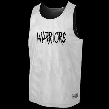 timeless design f6a05 339c7 Warriors - Custom Heat Pressed Youth Reversible Basketball Jerseys - YST500