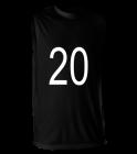 2020DRUHA Youth Sleeveless  Multi Sport Jersey  - 506XSY