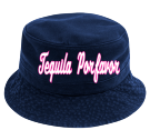 Tequila Porfavor - Custom Heat Pressed Short Brim Custom Bucket Hats - 961 E11C74C36A76
