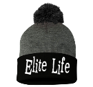Elite Life-E T M - Custom Heat Pressed Pom Pom Knit Beanie - SP15 82F38B841454