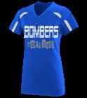 Bomberssoftball7 Girls V-Neck Softball Jersey