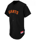 MARTINI Giants Official MLB Full Button Youth Jersey - MAHD684Y