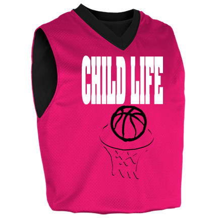 bf3205753f41 CHILD LIFE-01 - Custom Heat Pressed Womens Fadeaway Reversible Basketball  Jersey - 1481 S F9B16F2A9DFDA