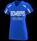 bombers Girls V-Neck Softball Jersey