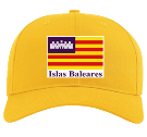 balearic islands hat - Custom Heat Pressed Cotton Snapback Two Color Hat - 212 7D05EA6FFC7E
