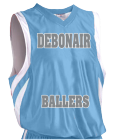 DEBONAIR BALLERS - Custom Heat Pressed Youth Basketball Jersey - Reversible Downtown - Teamwork Athletic - 1409 374640A1961F